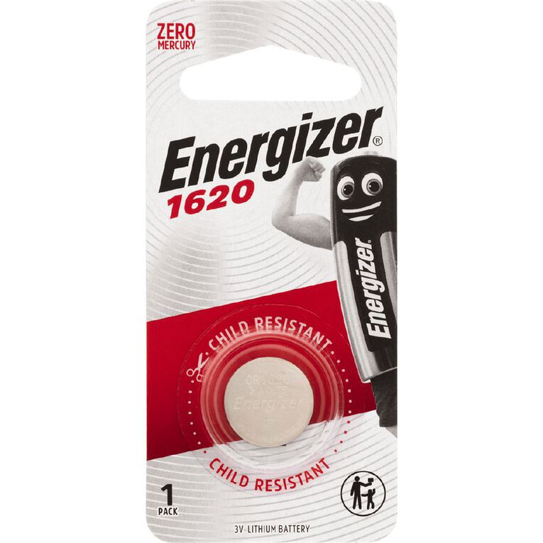 Energizer Lithium Coin Battery 1620, , hi-res