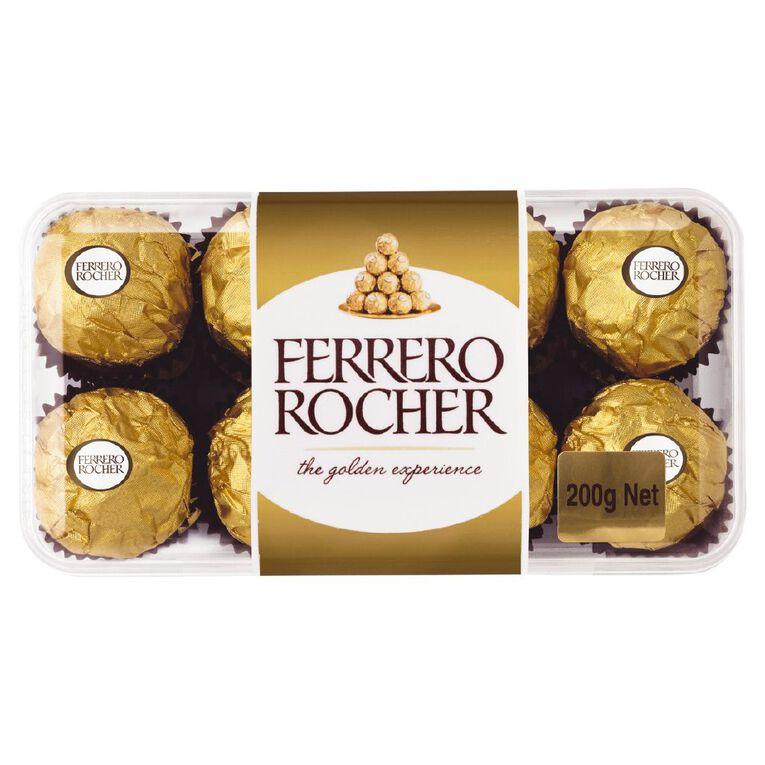 Ferrero Rocher Chocolate Gift Pack 16 Pack 200g, , hi-res