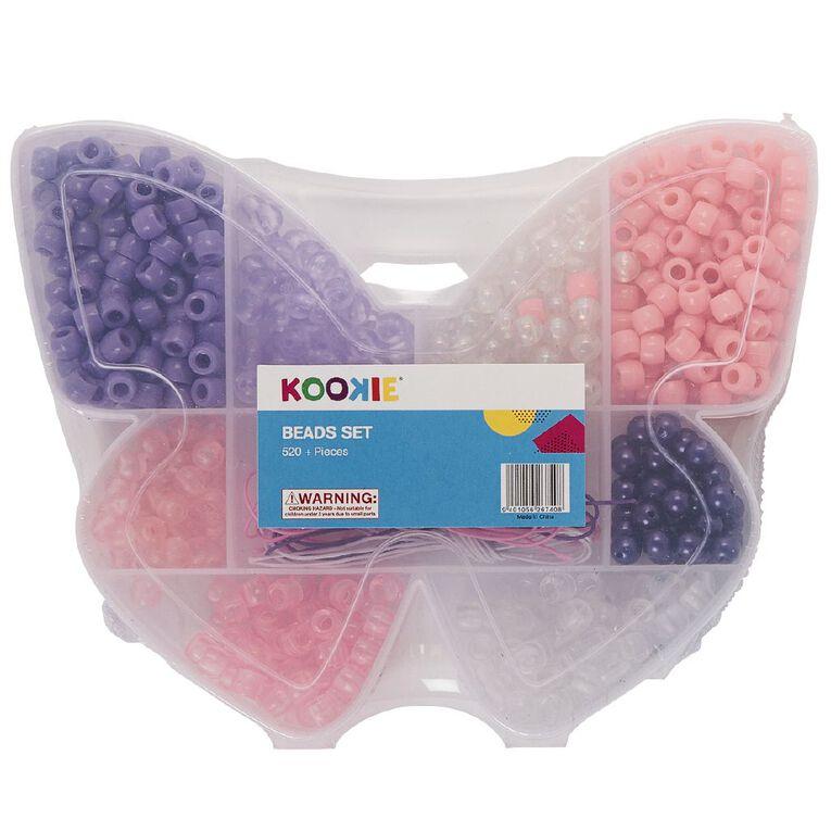 Kookie Beads Set in Butterfly case, , hi-res