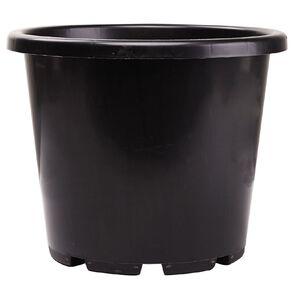 IP Plastics Resin Round Planter Pot 32cm Black 15L