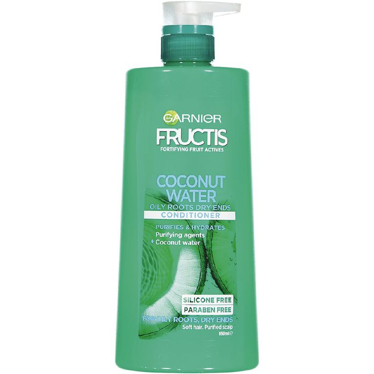 Garnier Fructis Coconut Water Conditioner 850ml, , hi-res image number null
