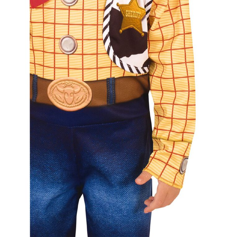 Toy Story Woody Deluxe Toy Story 4 Costume - Size 3-5, , hi-res