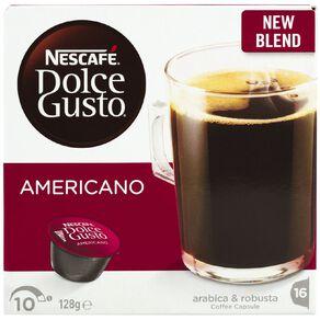 Nescafe Dolce Gusto Capsules Americano 16 Pack