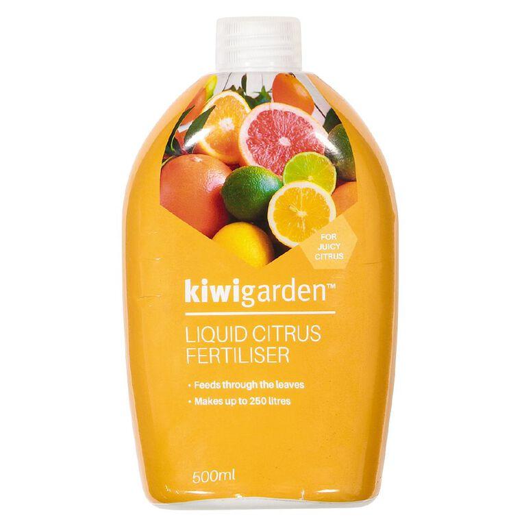 Kiwi Garden Liquid Citrus Fertiliser 500ml, , hi-res