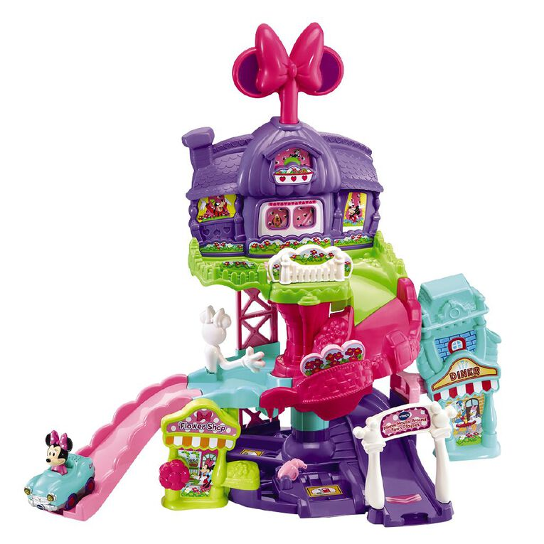 Vtech Toot Toot Disney Minnie Mouse Around Town Playset, , hi-res