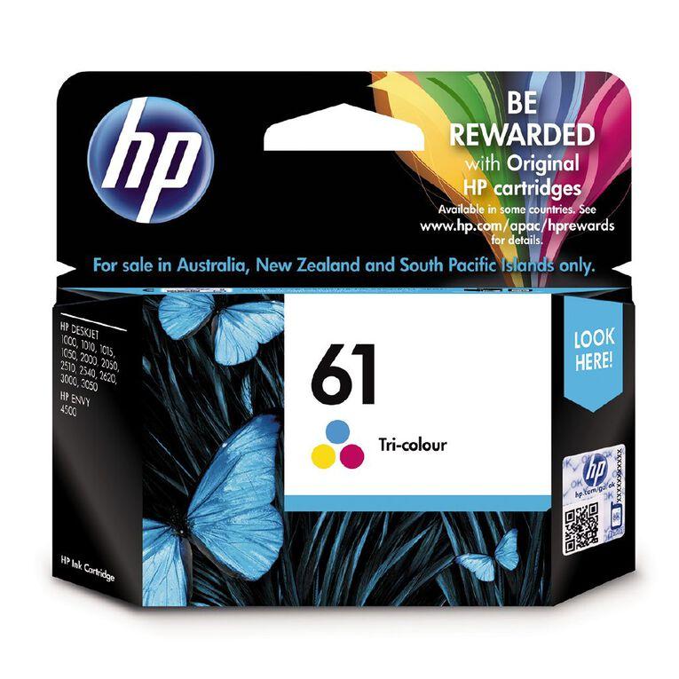 HP Ink 61 Colour (165 Pages), , hi-res