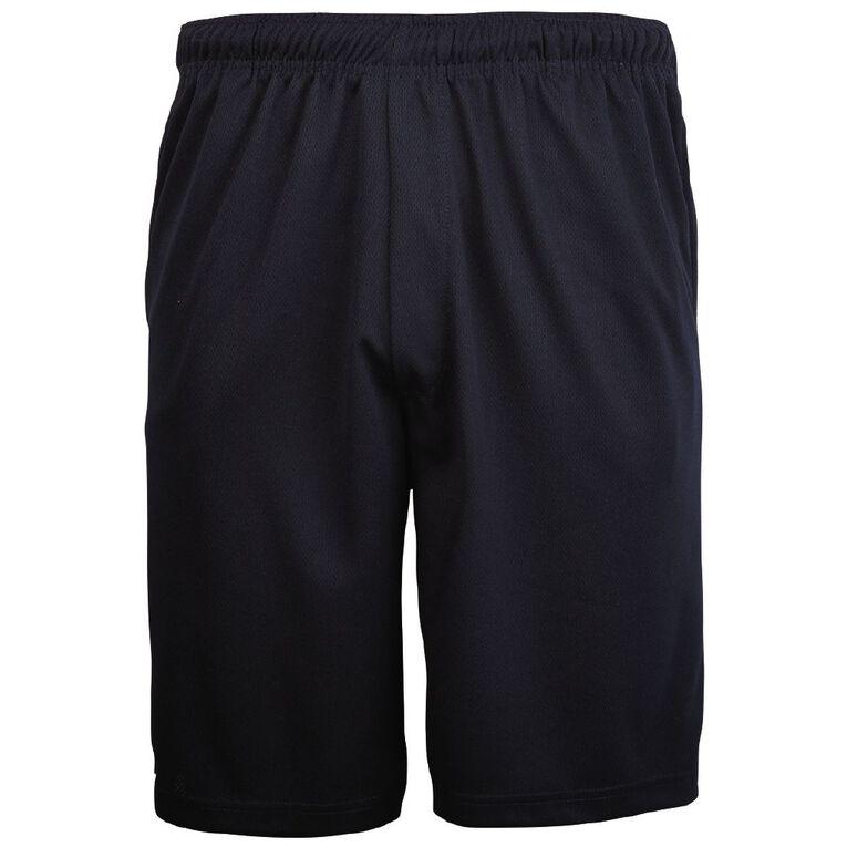 Schooltex Airmesh Shorts, Navy, hi-res