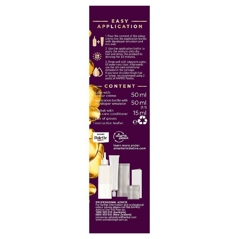 Napro Napro Palette  9.5-1 Ashy Light Blonde, , hi-res