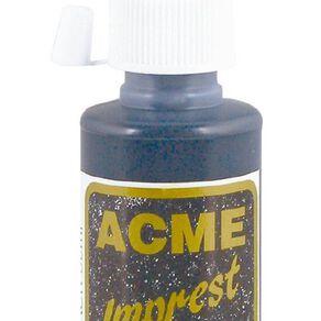 Acme Ink Rubber Stamp 50ml Black
