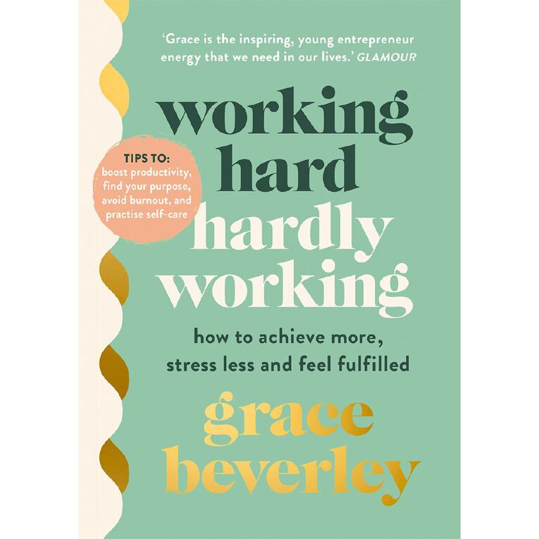 Working Hard Hardly Working by Grace Beverley, , hi-res