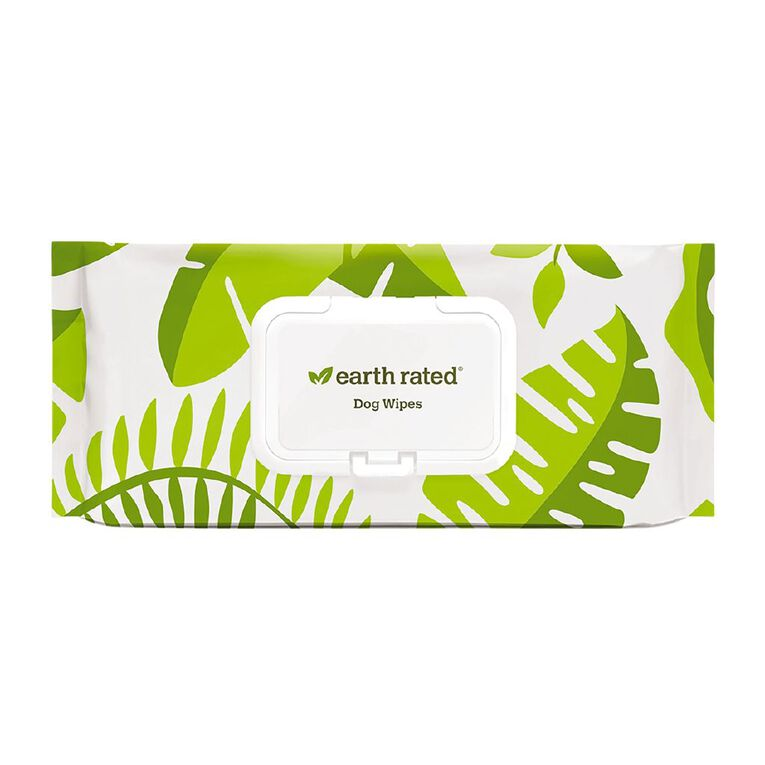 Ecopack Earth Rated Compostable Pet Wipes 100pk, , hi-res