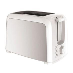 Living & Co Toaster Metal Side 2 Slice White
