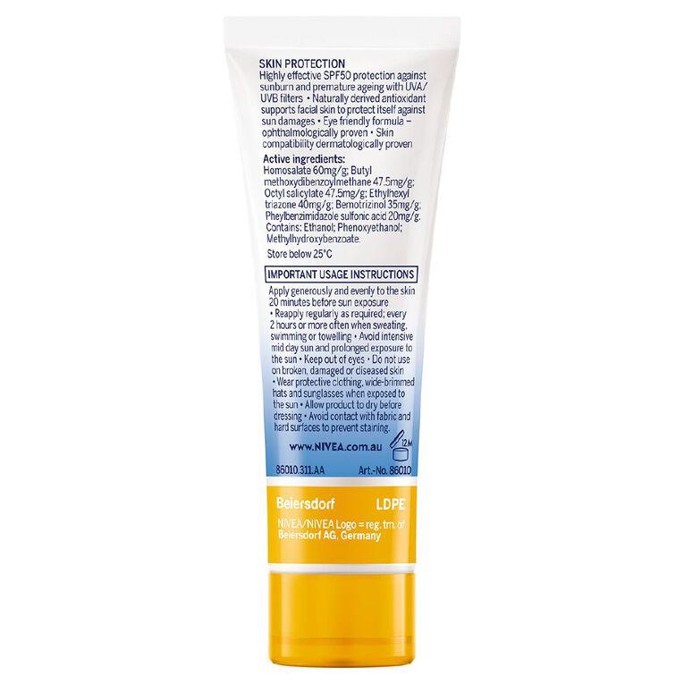 Nivea Sun Face UV Shine Control SPF50+, , hi-res