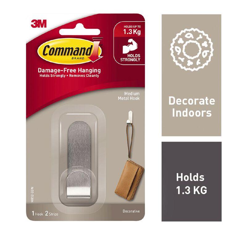 Command Modern Metal Hook Medium, , hi-res