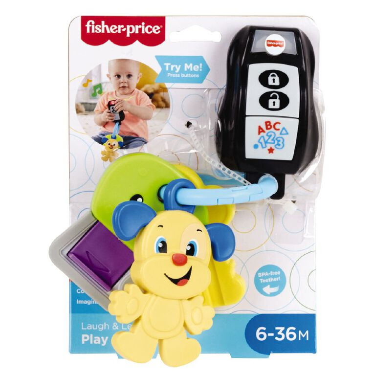 Fisher-Price Laugh and Learn Play & Go Keys, , hi-res