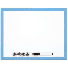 WS Magnetic Whiteboard 280 x 360mm Blue