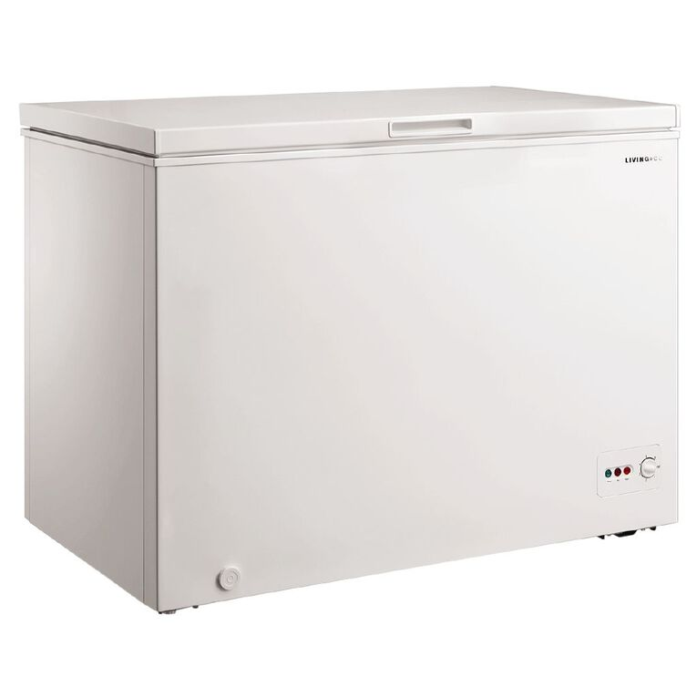 Living & Co Chest Freezer 295 Litre White, , hi-res