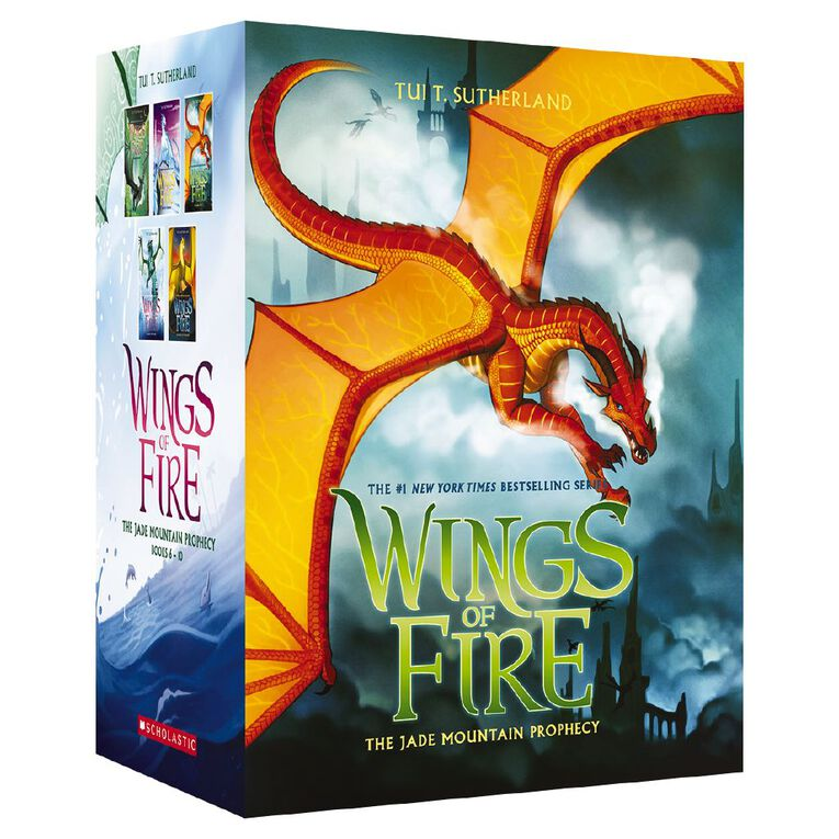 Wings of Fire 6-10 Boxed Set: The Jade Mountain Prophecy, , hi-res