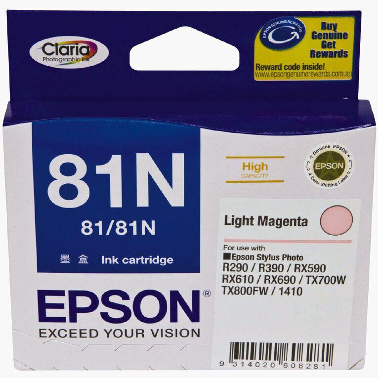 Epson Ink 81N Light Magenta (805 Pages), , hi-res