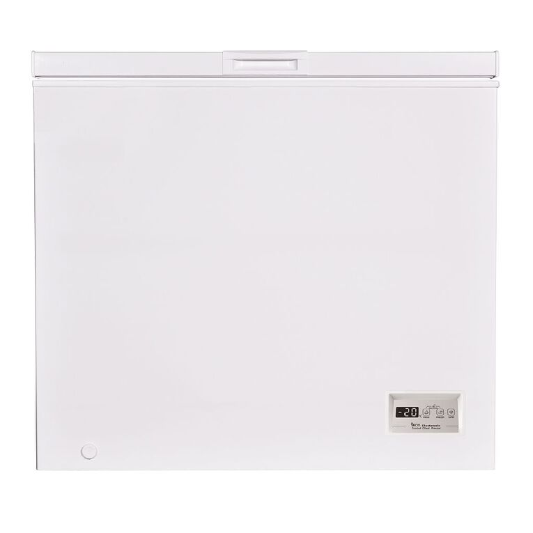 Akai Digital Display Chest Freezer 200 Litre White, , hi-res