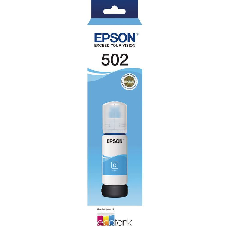 Epson T502 Ink Cyan (6000 Pages), , hi-res