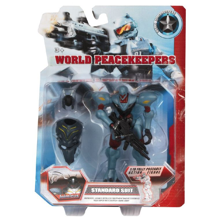 World Peacekeepers Standard Suit Figure Assorted 4 inch Assorted, , hi-res