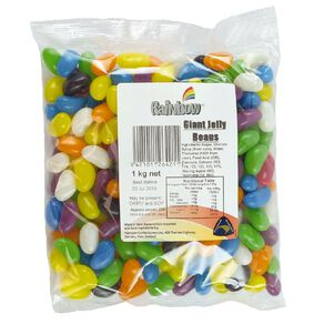 Rainbow Giant Jelly Beans 1kg