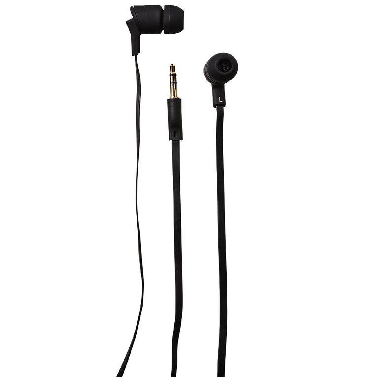 Tech.Inc In-Ear Buds Black, , hi-res