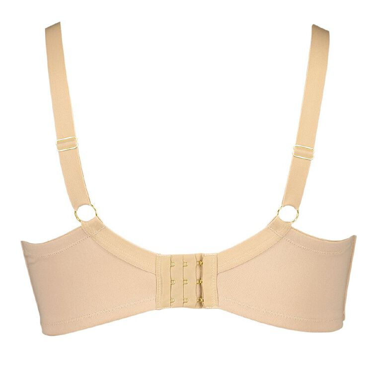 Comfort For You Luxe Fuller Cup Wire free Bra, Natural, hi-res