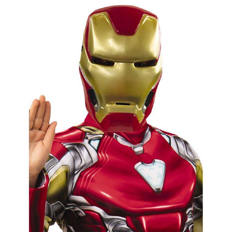 Iron Man Deluxe Avengers 4 Costume - Size 6-8, , hi-res