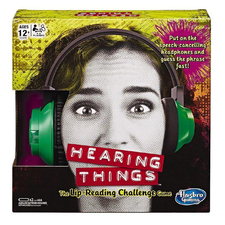Hearing Things, , hi-res