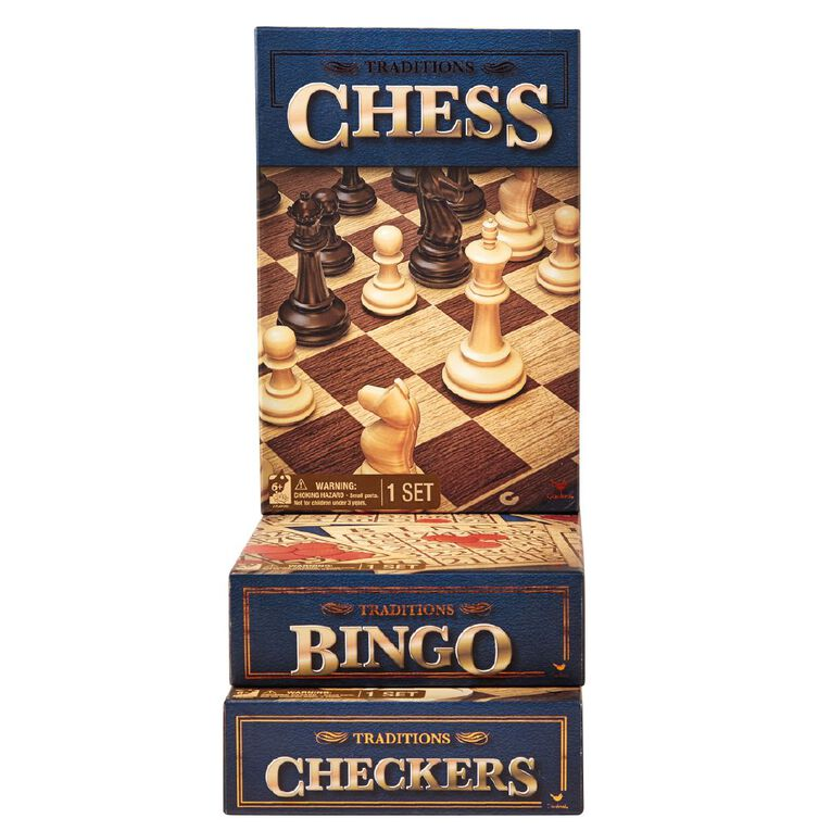 Traditions Chess Game, , hi-res