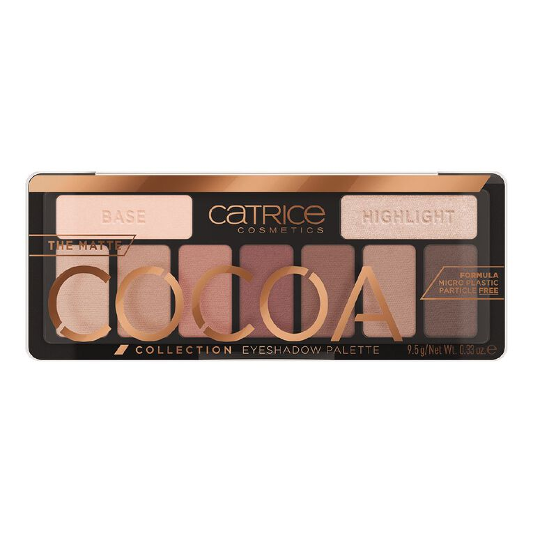 Catrice The Matte Cocoa Collection Eyeshadow Palette 010, , hi-res