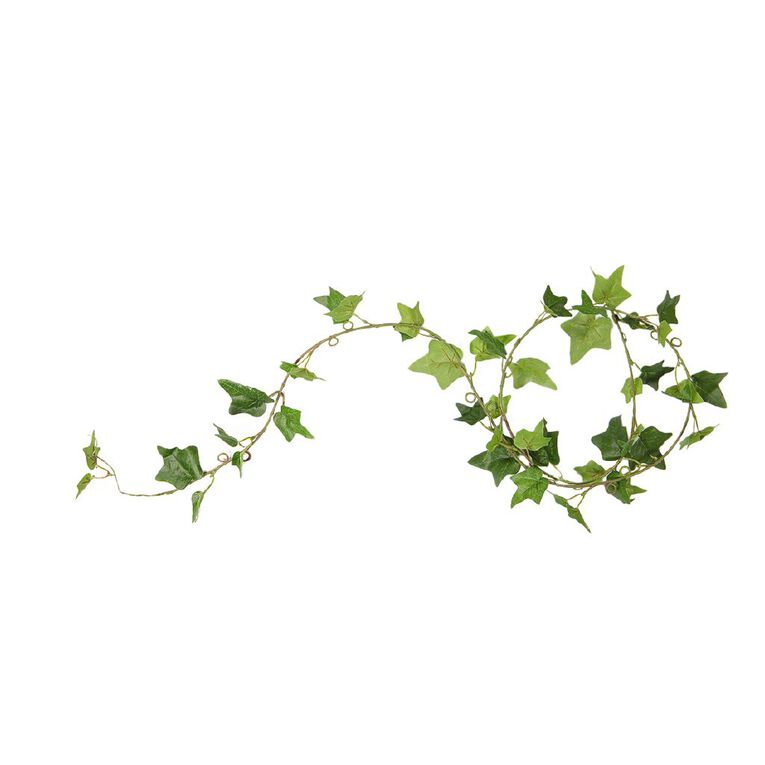 Living & Co Artificial Ivy Garland 182cm Green, , hi-res image number null