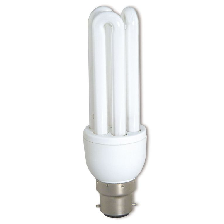 Edapt CFL Stick B22 Light Bulb 20w Warm White 2 Pack, , hi-res