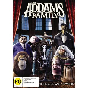 DVD The Addams Family (2019) 1Disc