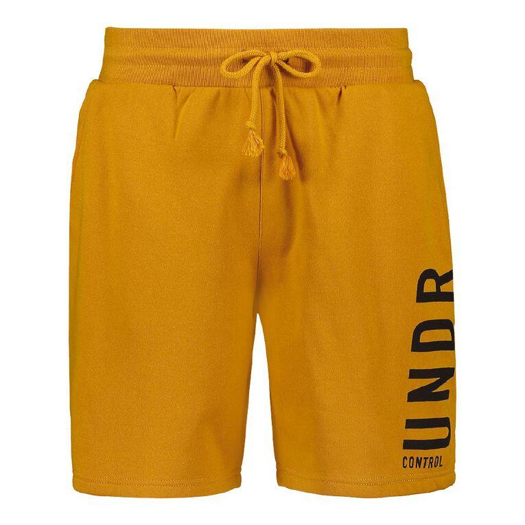 Garage Men's Knit Fresh Shorts, Tan, hi-res