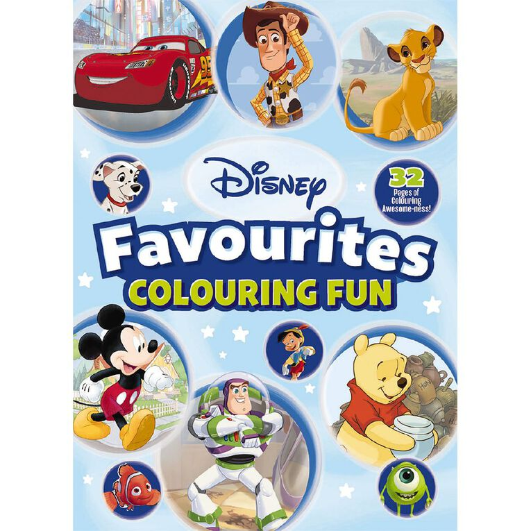 Disney Favourites: Colouring Book #1, , hi-res