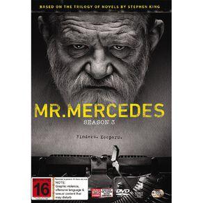 Mr. Mercedes Season 3 DVD 3Disc