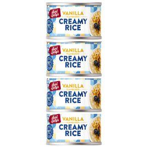 Aunt Betty's Creamy Rice Vanilla 100g 4 Pack