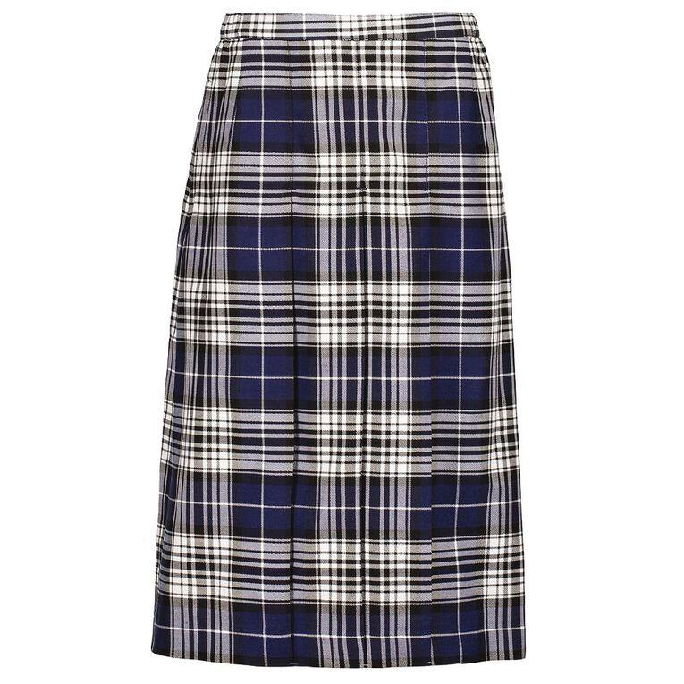 Schooltex Triple Pleat Skirt, Schooltex Tartan TRT027, hi-res