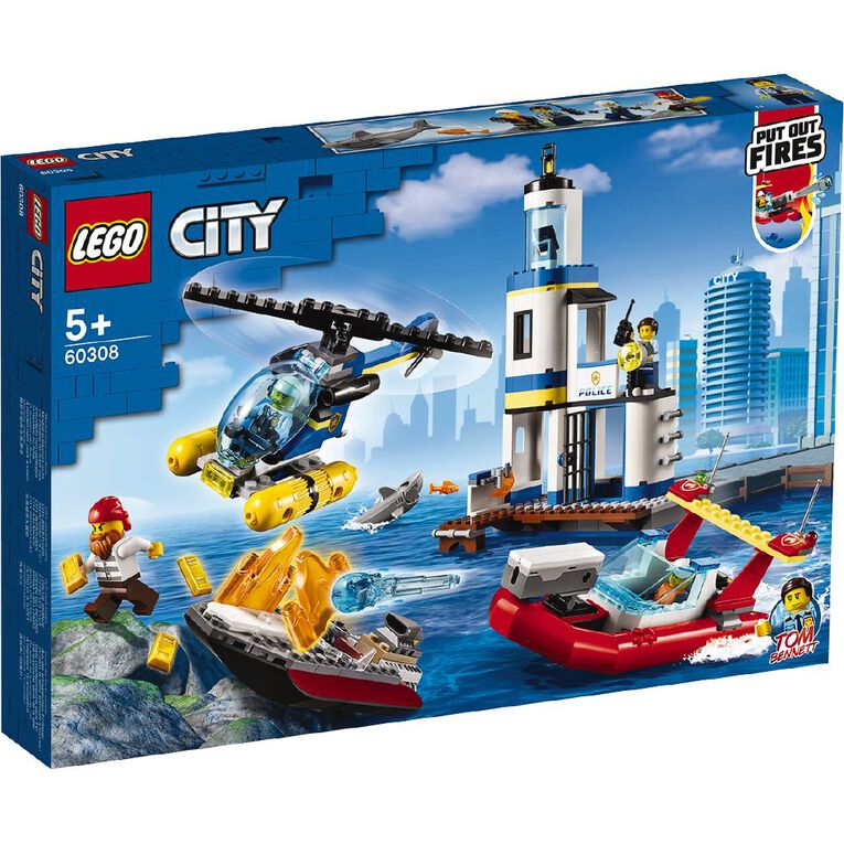 LEGO CITY Seaside Police and Fire Mission 60308, , hi-res