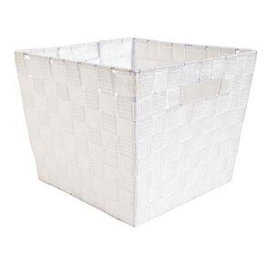 Living & Co Woven Basket White Medium