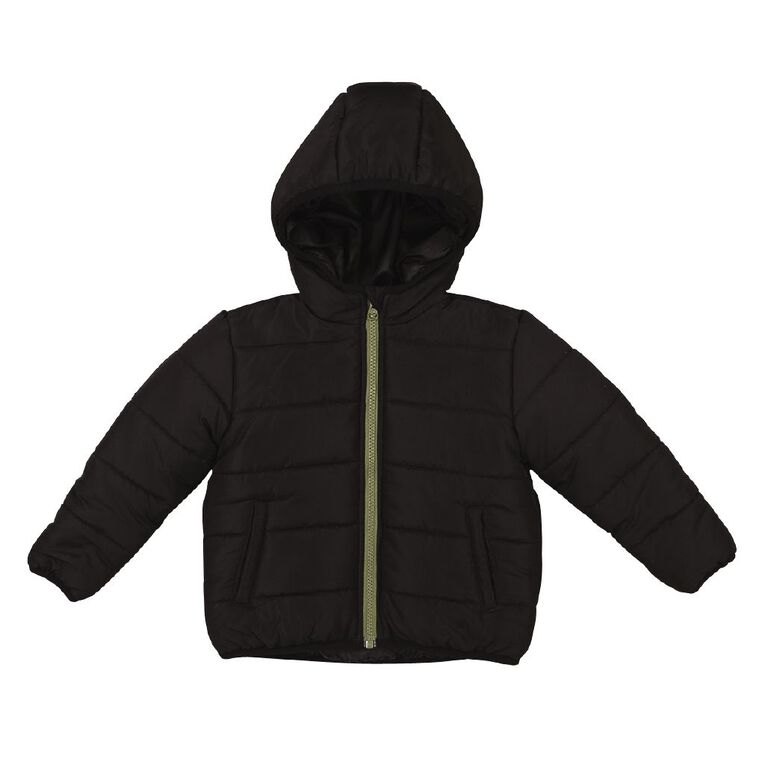 Young Original Toddler Puffer Jacket, Black, hi-res