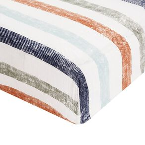 Aden by Aden and Anais Hit the Road Fitted Cot Sheet