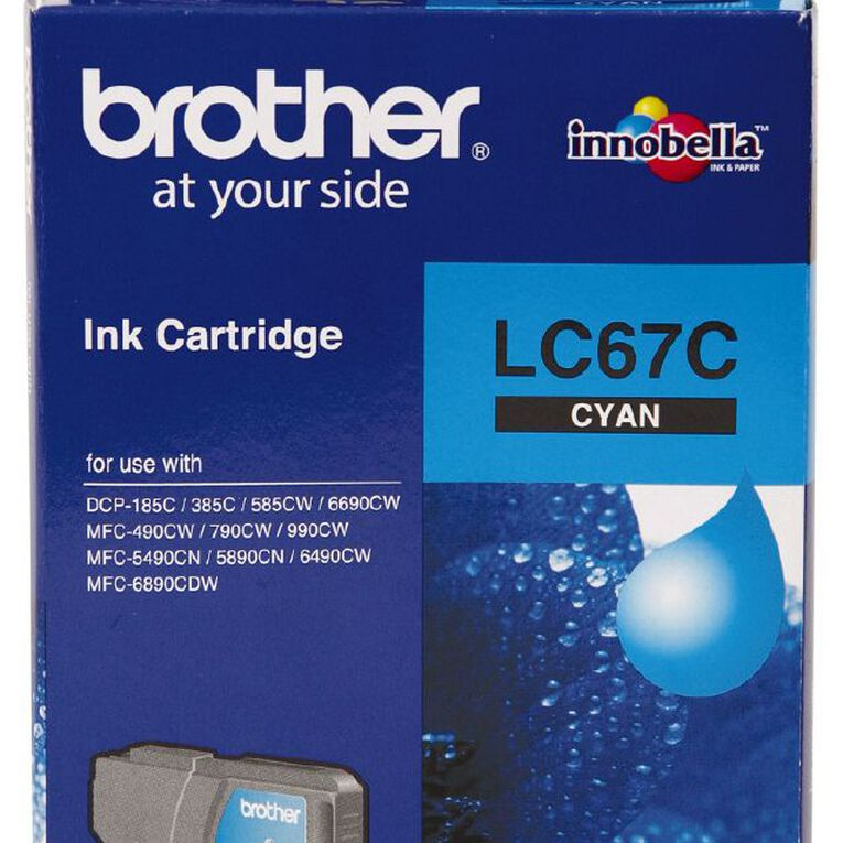Brother Ink LC67 Cyan (325 Pages), , hi-res
