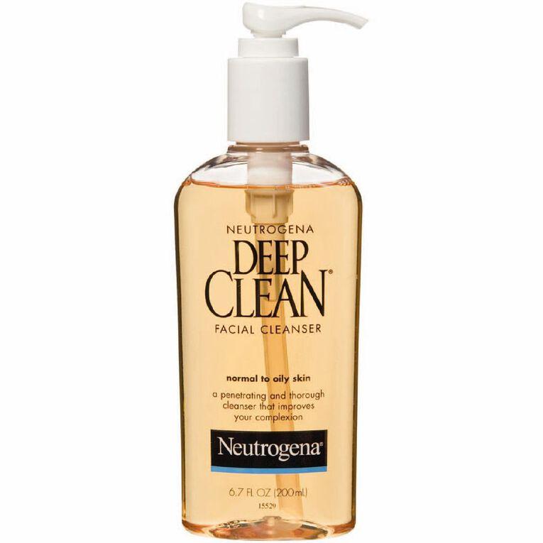 Neutrogena Deep Clean Cleanser 200ml, , hi-res
