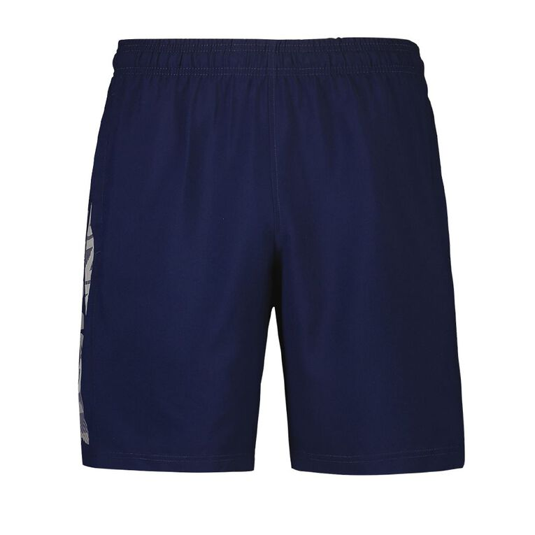 Under Armour Men's Woven Graphic Shorts, Blue Dark, hi-res image number null