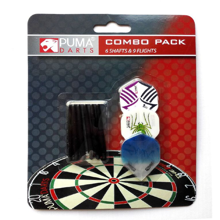 Puma Darts Dark Flight & Shaft Combo Pack, , hi-res