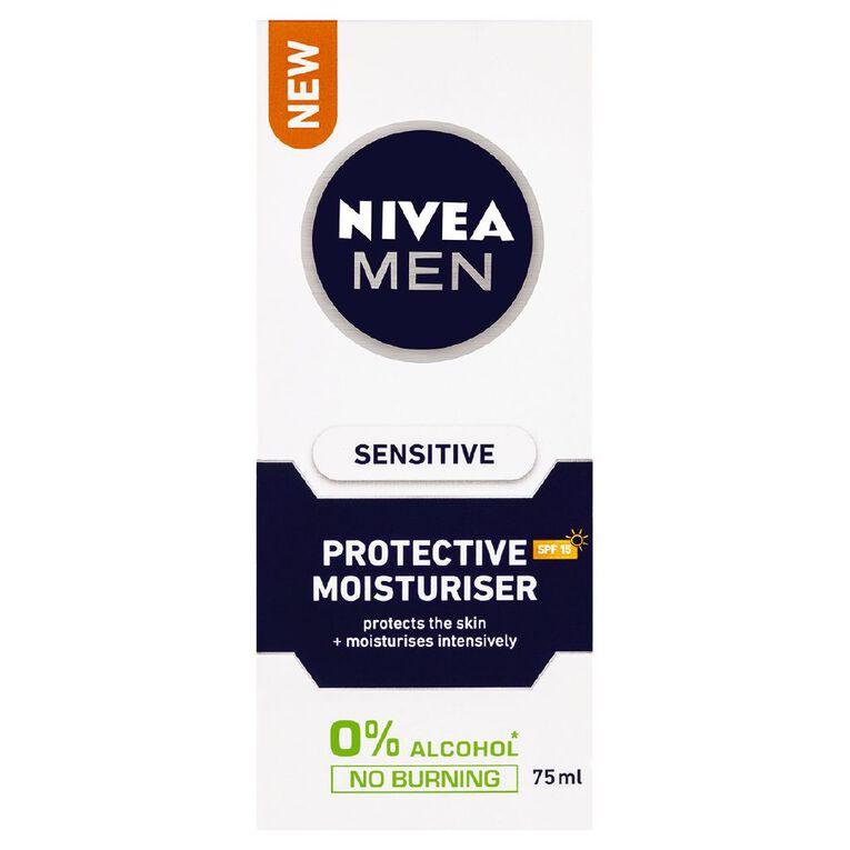 Nivea For Men Sensitive Moisturiser 75ml, , hi-res
